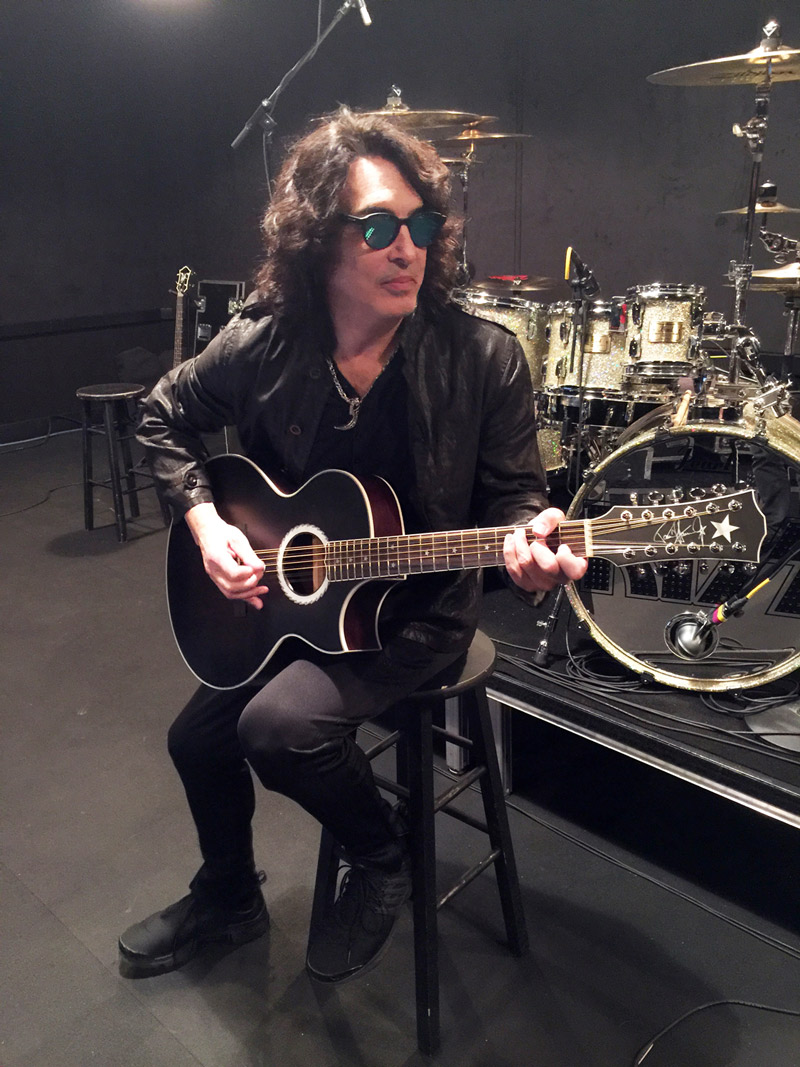 Paul Stanley Guitars 2019 Stage Played 12 String Acoustic Guitar